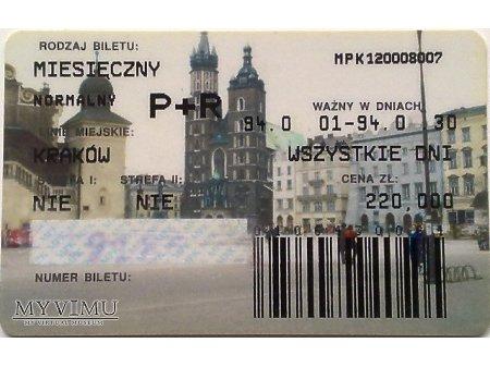 Bilet MPK Kraków 6