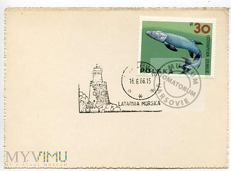 Latarnia morska Rozewie - 1966