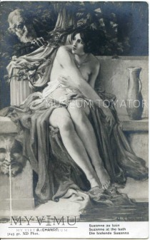 Chanot - Zuzanna w kąpieli