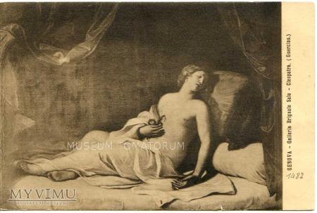 Guercino - Śmierć Kleopatry