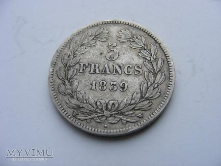5 FRANKÓW - 1839 W
