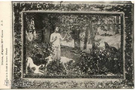 Duże zdjęcie Arturo Michelena - Diana na polowaniu