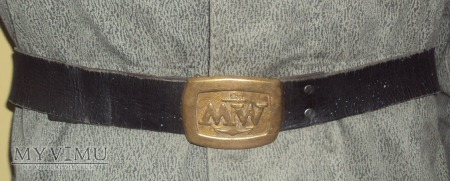 Pas MW czarny