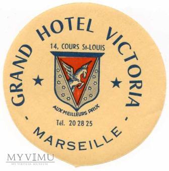 "Francja - Marseille - ""Grand Hotel Victoria"""