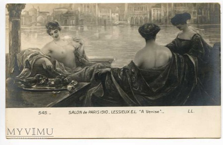 E.L. Lessieux - W Wenecji