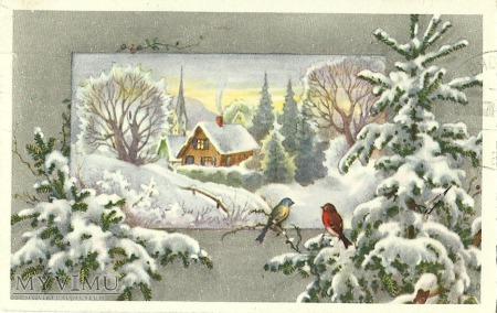 Wesołych Świąt - Szwecja -1965 r.