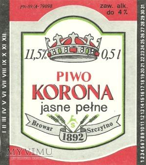 Browar Szczytno Piwo korona jasne pełne