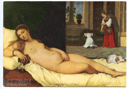 Tycjan - Venus z Urbino