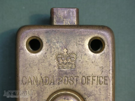 "Canada Post Office Mail Box Lock-""Arrow"""