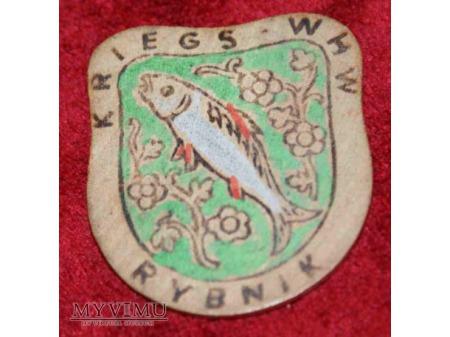 Odznaka KWHW Gau Niederschlesien 20/21 01 1940