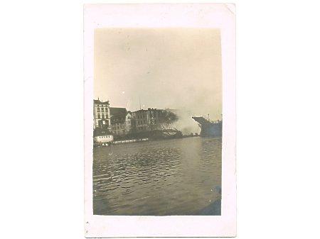 Duże zdjęcie Pożar Mostu Wysokiego