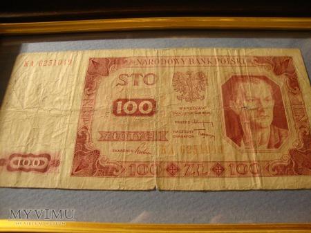 100 ZŁOTYCH 1948 !!!