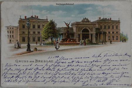 Wrocław - Breslau 12.1898 r