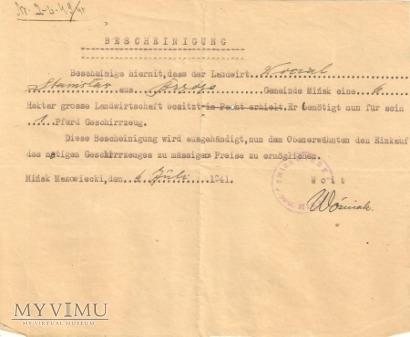 Pismo wójta - gmina Mińsk Mazowiecki