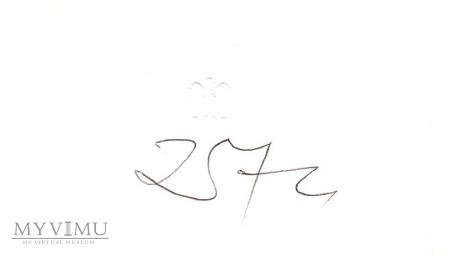 Autograf od Józefa Zycha