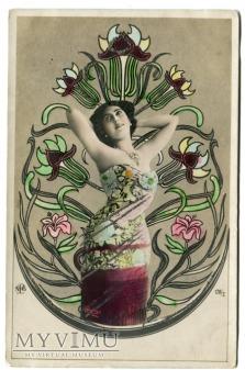 1908 Caroline OTERO ostatnia wielka kurtyzana