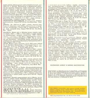 MIŃSK MAZOWIECKI I OKOLICE- folder