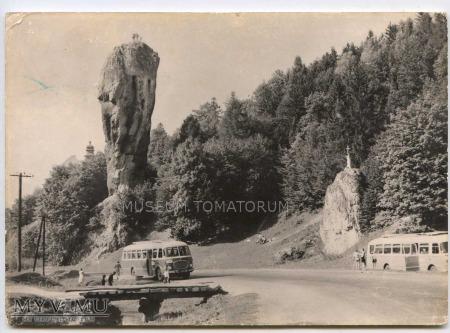 Pieskowa Skała od wschodu - 1963 rok.