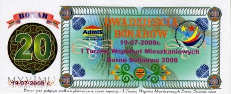 20 Bonarów - Borne Sulinowo