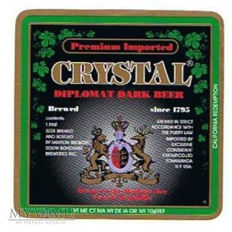 crystal diplomat dark beer