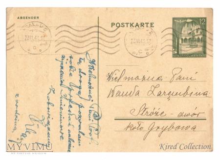 Całostka pocztowa 7II