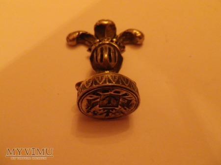 Herb Korab -pieczęć herbowa,tłok do laku nr 4