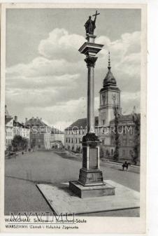 W-wa - Kolumna Zygmunta - 1939 ok.