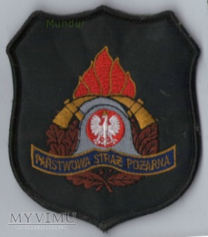 Emblemat PSP dla komend
