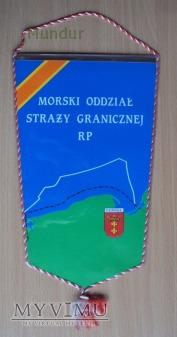 Proporczyk - Morski Oddział Straży Granicznej RP