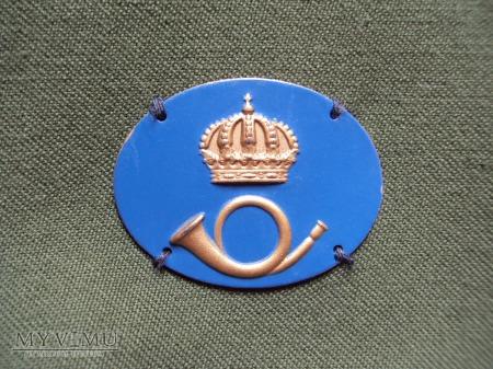 Szwecja - oznaka specjalności wojskowej: posten