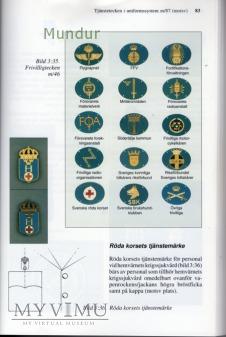 Szwecja-oznaka specjalności wojskowej: SRK