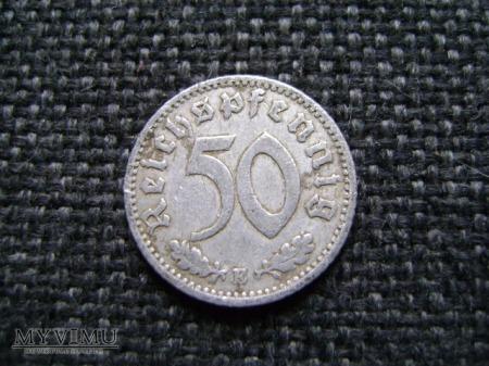 50 reichspfennig 1941 E