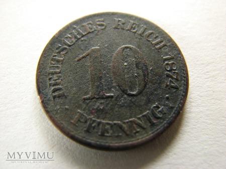 10 Pfennig 1874