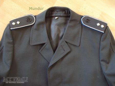 BW - płaszcz porucznika wojsk lądowych