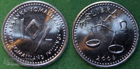 Somaliland, 10 Shillings 2006