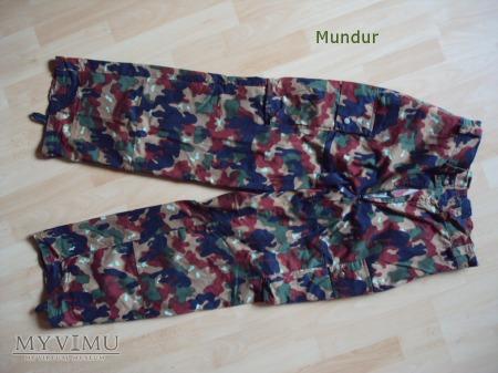 Szwajcaria: mundur polowy - spodnie