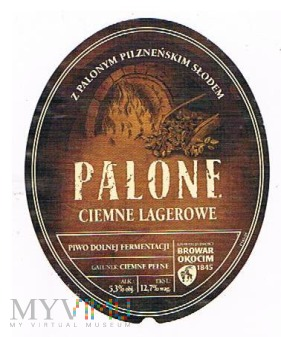 palone ciemne lagerowe