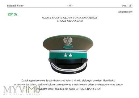 Czapka garnizonowa SG (wzór V)