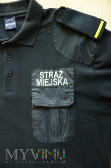 Koszulka polo Straży Miejskiej - czarna
