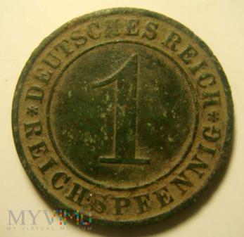 1 Pfennig 1931 , A
