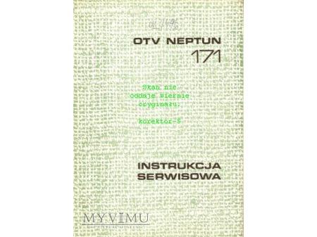 Instrukcja serwisowa TV NEPTUN 171