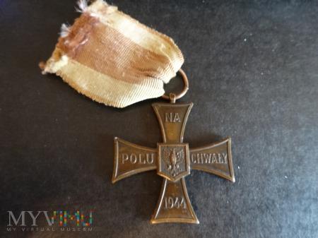 Duże zdjęcie Krzyż Walecznych + nadanie pośmiertne: L6.