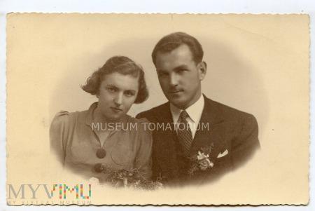 Stare zdjęcie małżeńskie-1938