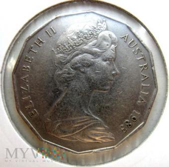 50 centów 1983 r. Australia