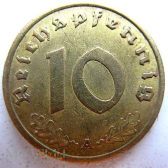 Duże zdjęcie 10 reichspfennigów 1937 Niemcy (Trzecia Rzesza)
