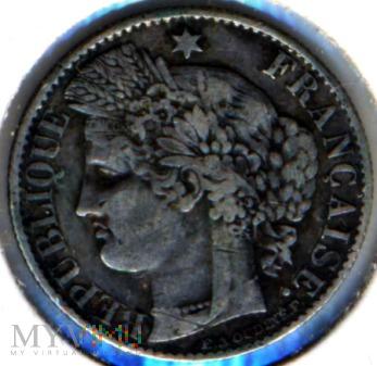 Duże zdjęcie 50 Centimes France 1888 A Silver