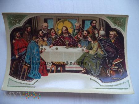 Ostatnia Wieczerza - kartka pocztowa