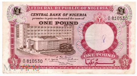 Nigeria - 1 funt (1967)