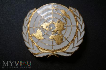 Duże zdjęcie Odznaka na Błękitne Berety Wojsk Pokojowych ONZ