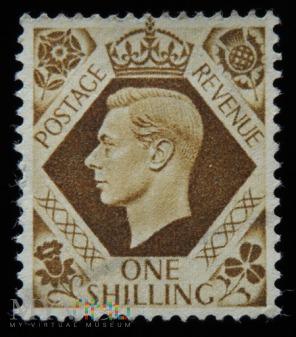 1 Shilling Jerzy VI
